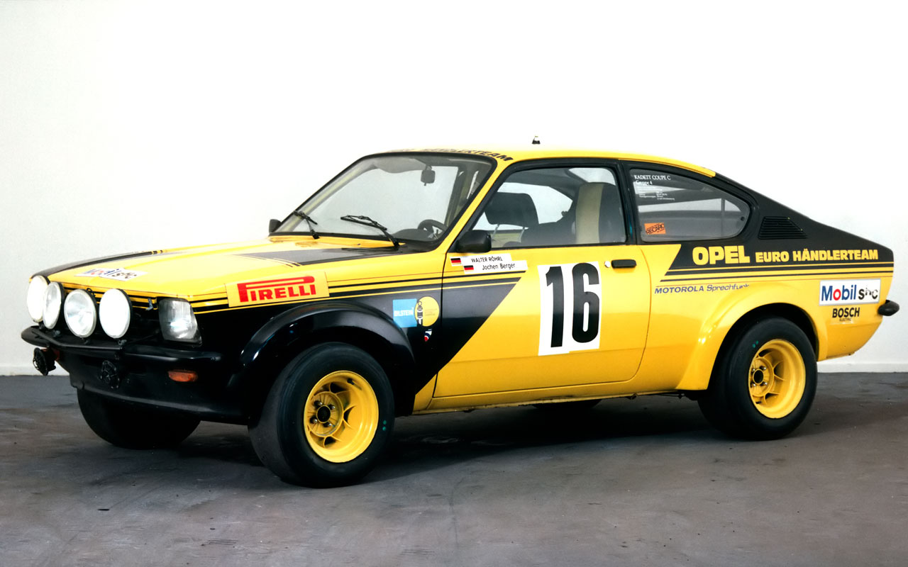 Opel Kadett 1979 GT/E rally – Art of Classic Cars